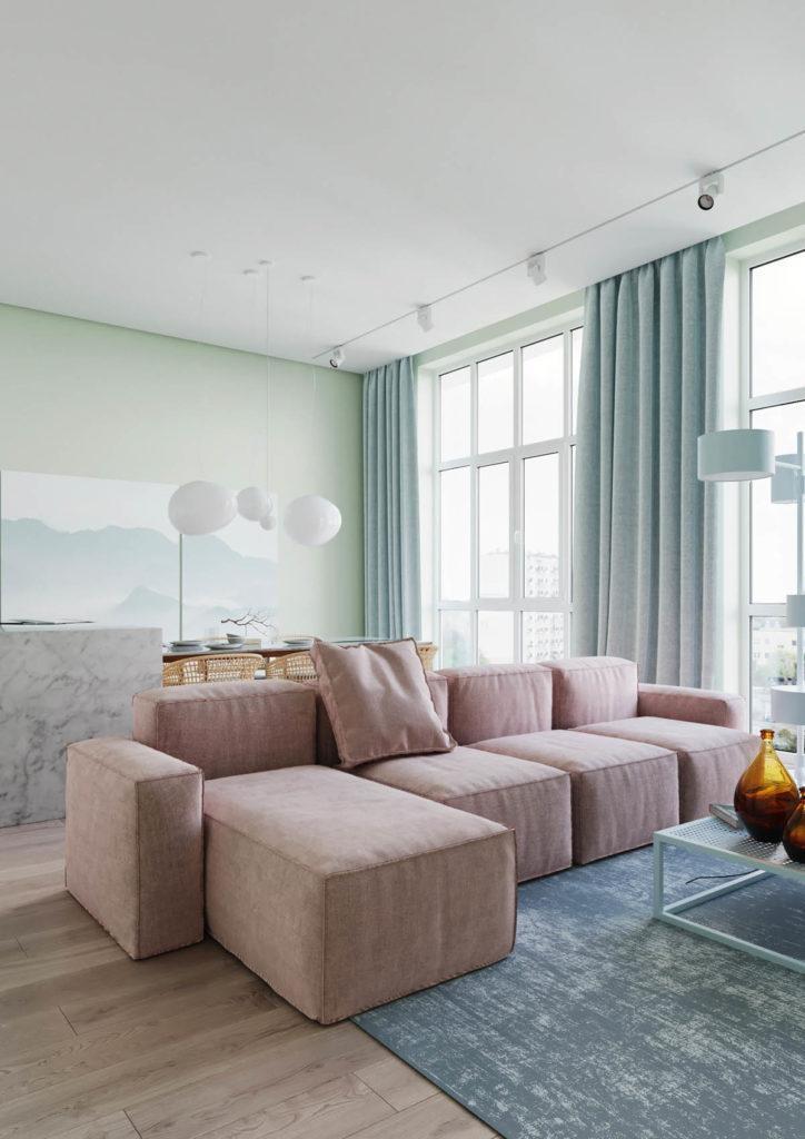 Три декоративные схемы для домашнего декора