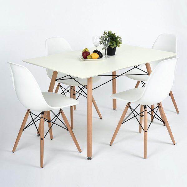 Современные столовые зоны: комбинации для стола и стула, которые идеально сочетаются вместе