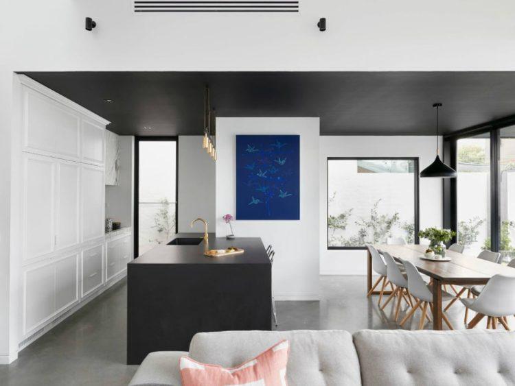 Современный стиль в дизайне кухни