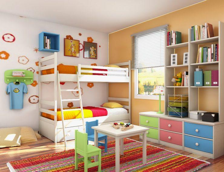 Как украсить детскую комнату в современном стиле