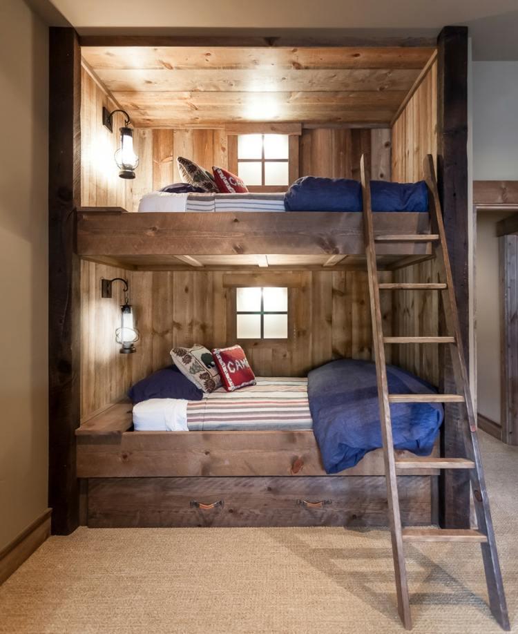 Детская комната в стиле Шале