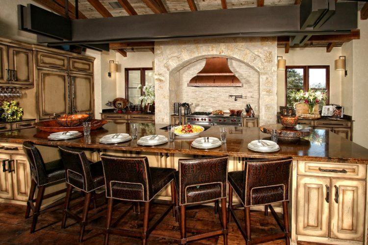 Дизайн испанской кухни