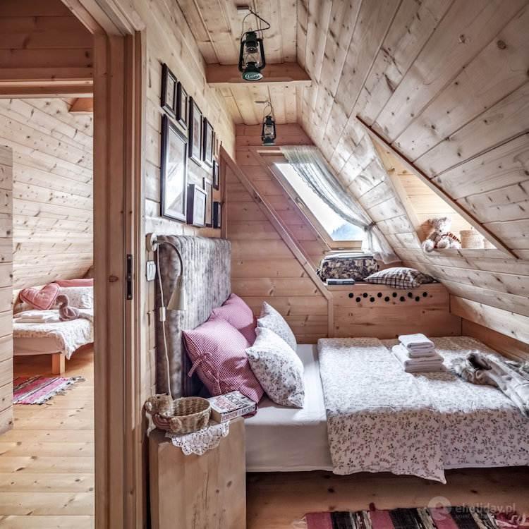 Дом стиле шале фото интерьера