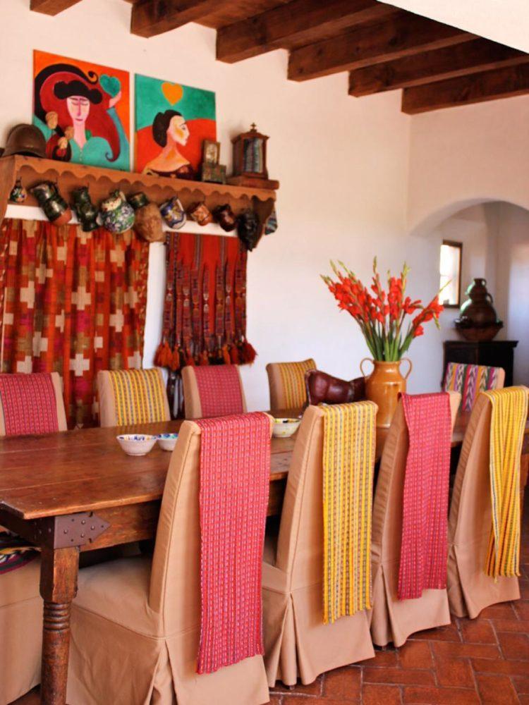 Текстиль в испанском интерьере