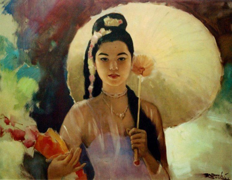 Индонезийское искусство через стиль художника