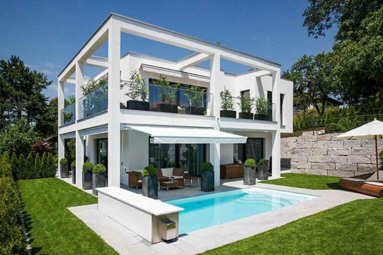 Баухауз стиль в архитектуре