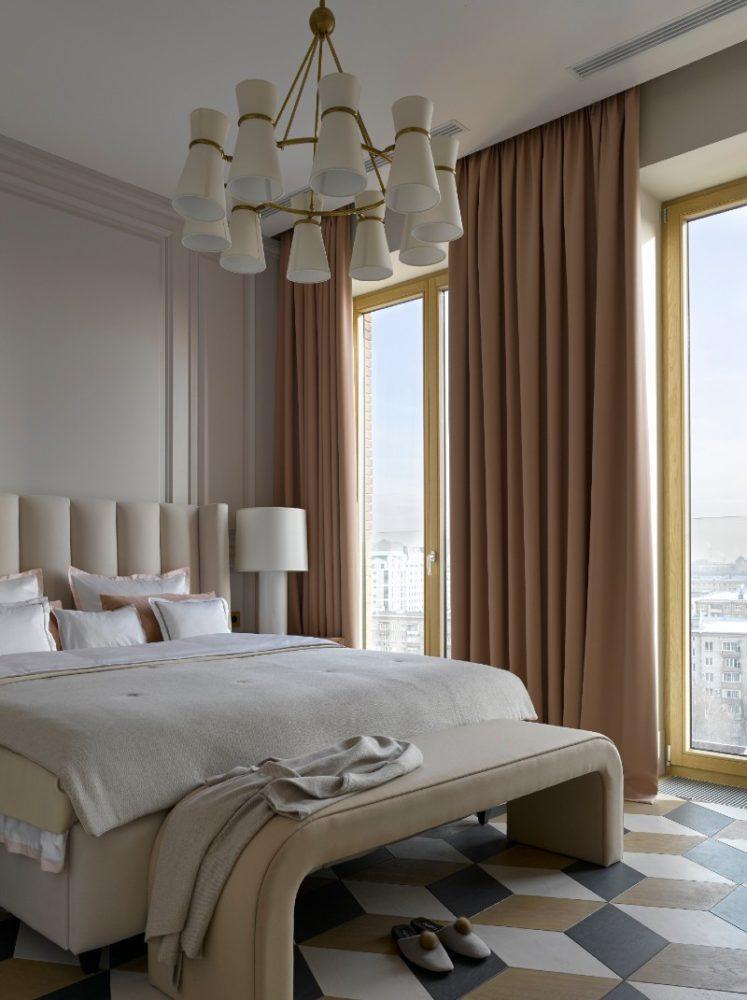 Интерьер спальных комнат в современном стиле