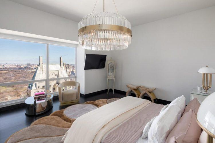 Спальная комната в современном стиле