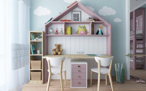 как украсить детскую комнату девочке