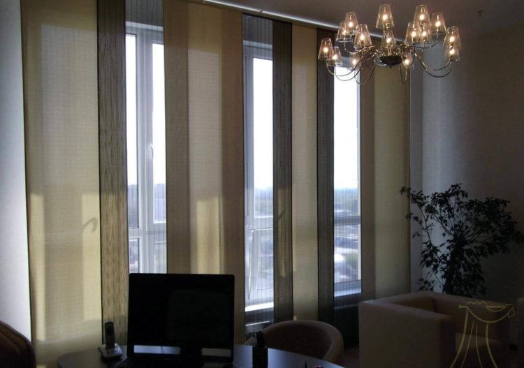 Панельные (Японские) шторы