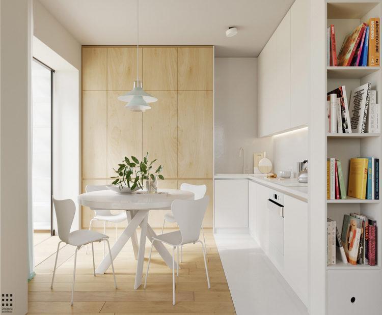 кухня +в скандинавском стиле фото интерьер