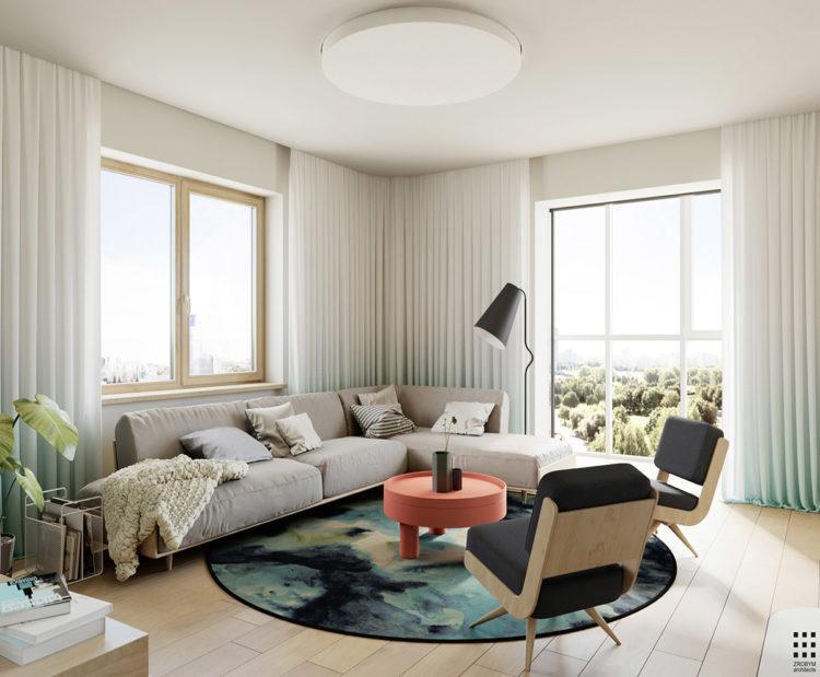 4 дизайна интерьера в современном скандинавском стиле