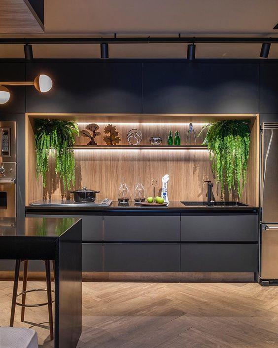 Эко стиль интерьера кухни
